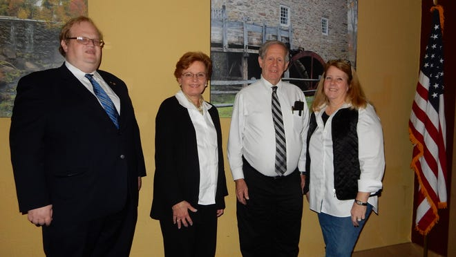 Denville Kiwanis 2016-2017 officers were installed on Monday.