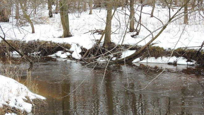 Many streams and rivers have already tossed aside winter's shield of ice and are flowing heavily. In some parts of the state, the National Weather Service issued flood warnings last week.