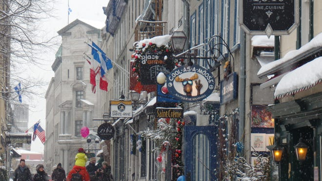 Quebec City is a European old world adventure on this side of the pond.