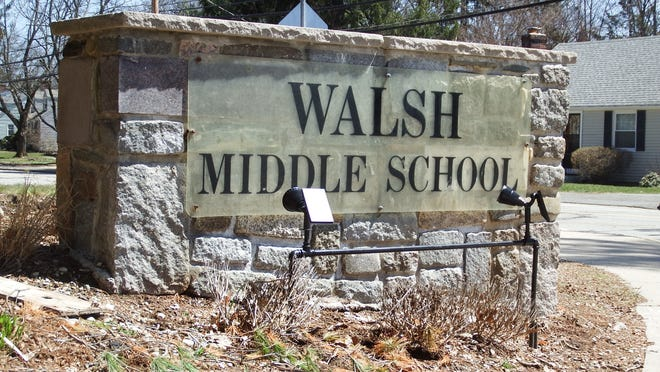 COVID-19 testing will be available at Walsh Middle School beginning on Thursday.