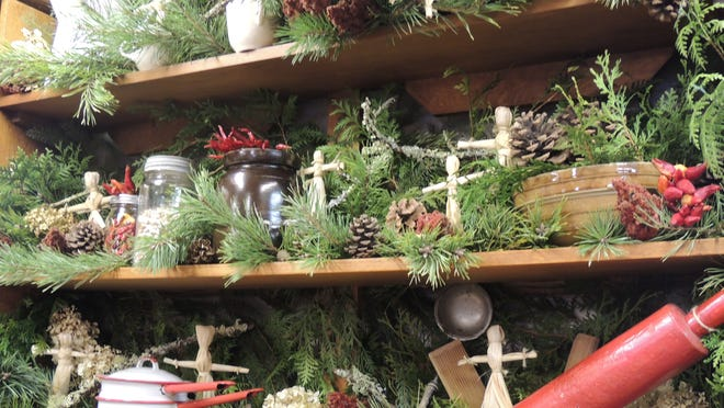 The Ridges Sanctuary hosts their annual, old-fashioned Natural Christmas Party, Sat., Dec. 13 from 3-6 p.m. Extravagantly decorated cabins and trails feature all natural decor, along with a natural wreath-making workshop, campfire and more.