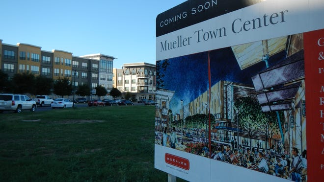 The Mueller Community in Austin, Texas, was designed with the principles of walkability, environmentally conscious building and community green spaces.