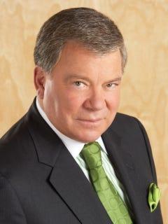William Shatner from Star Trek, TJ Hooker, Boston Legal.