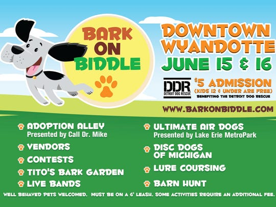 For more information, visit Bark on Biddle's Facebook page.