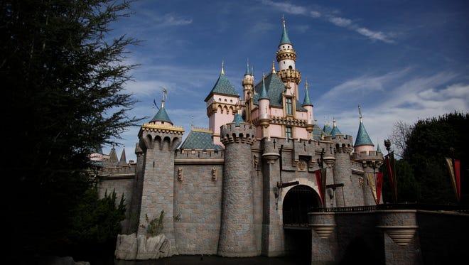 Sleeping Beauty's Castle is seen at Disneyland Jan. 22, 2015, in Anaheim, Calif.
