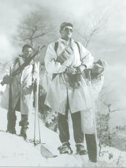 Lt. Don Traynor and his men prepare to scout German