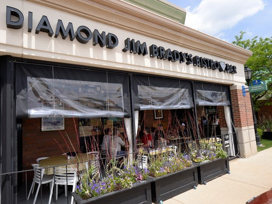 Exterior of Diamond Jim Brady's Bistro.