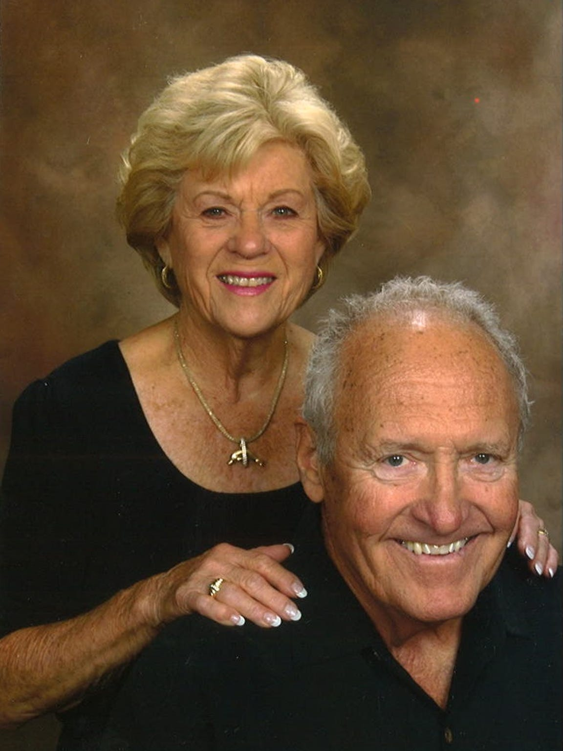 Ron and Marilyn Palfrey from Palm Springs