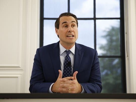 Democratic gubernatorial candidate Chris King discussed