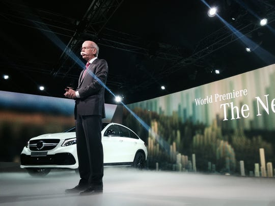 Dr. Dieter Zetsche introduces the Mercedes GLE Coupe