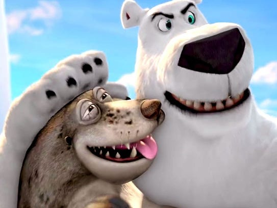 Review: Ugly animation mars unfunny 'Norm of the North'