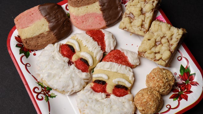 A collection of the winning entries in this year's St. Cloud Times Holiday Cookie Contest.