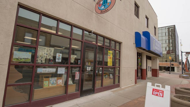 Battle Creek Books is on West Michigan Avenue in downtown Battle Creek.