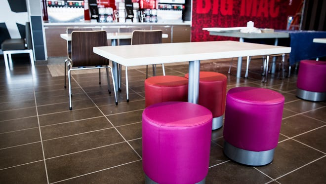 File photo of the McDonald's restaurant at the intersection of Bethel Avenue and Chadam Lane that reopened with a renovated look.