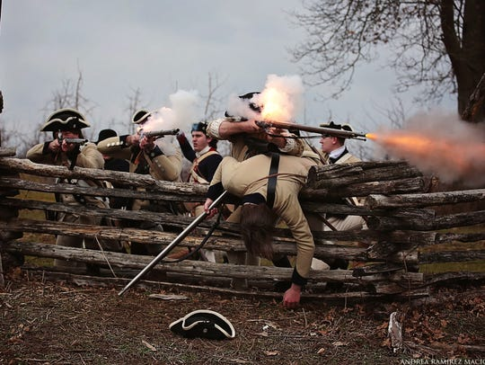 The Battle of Short Hills 240th anniversary re-enactment