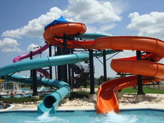 The Family Aquatic Center at Chambersburg Memorial Park will have three waterslides and other features fitting of a waterpark.