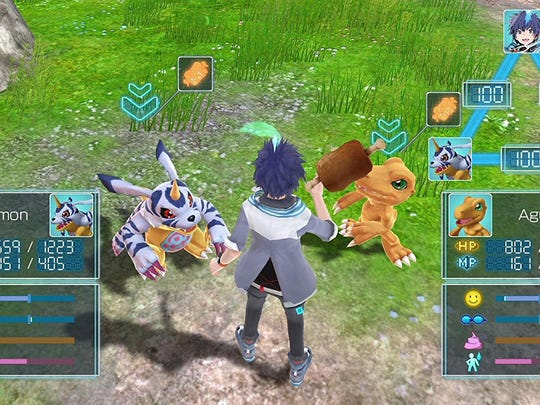 Digimon World: Next Order harkens back to the PlayStation Digimon World games and requires you to take good care of your digital monsters.
