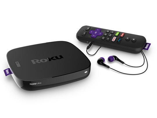 The Roku Ultra Net streaming device handles 4K video