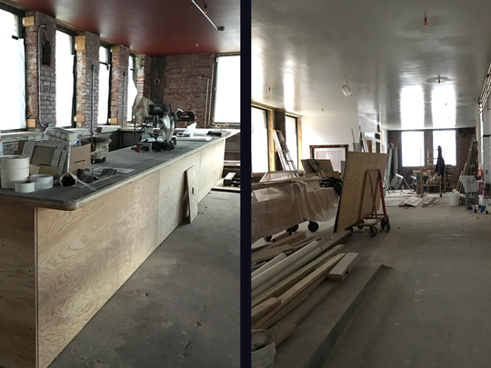 Construction at Sing Sing Kill Brewery is on track and the owners expect it to open in Winter 2018 in Ossining.