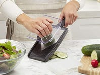 How to use a mandoline slicer, safely!