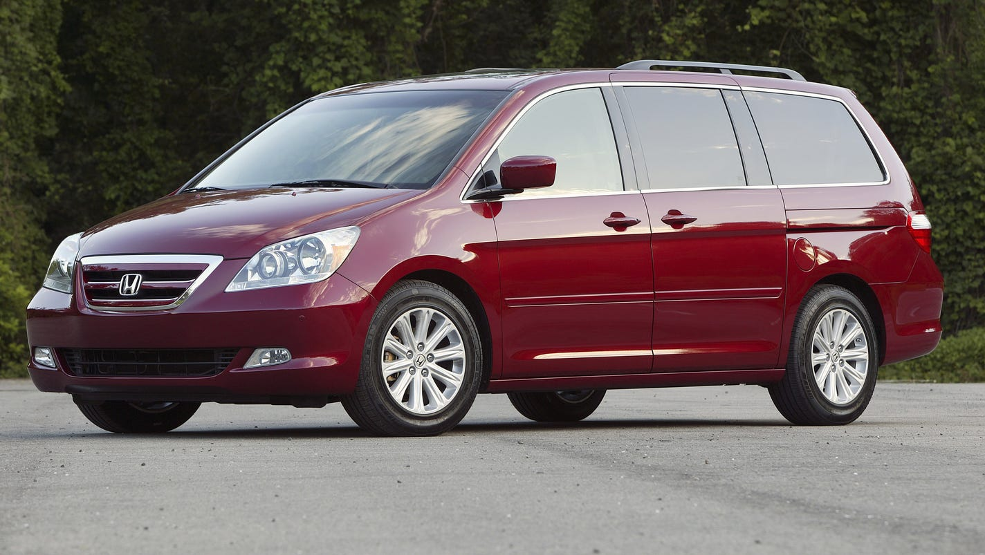 honda recalls odyssey minivans for fire risk