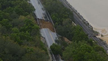 Officials assessing Escambia County roads