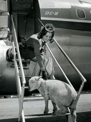 """""""Come FLY with me!"""" During 1968 and 1969 Alice in Dairyland"""