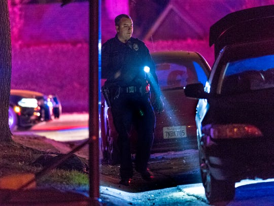 Visalia Police investigate a double shooting in the