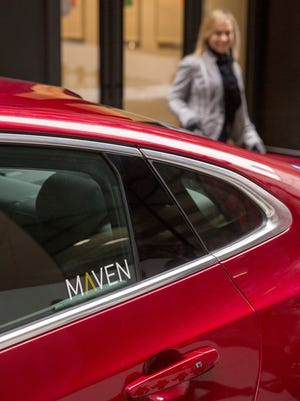 General Motors' new car-sharing service, Maven, will provide customers access to highly personalized, on-demand mobility services.