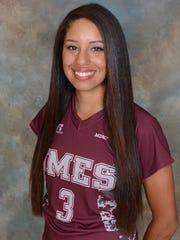 UMES softball player Adrienne Guerra.