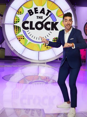 """Hillsdale native Paul Costabile is the host of the new game show """"Beat the Clock"""" on Universal Kids."""