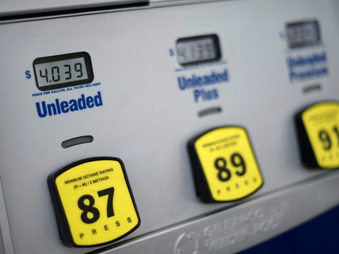 Wholesale prices dropped, pushed down in part by cheaper gasoline.