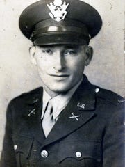 Charles Henry Lillie as a soldier during WWII.
