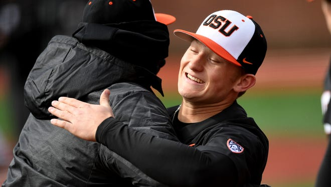 OSU middle infielder Andy Armstrong was a two-time all-state selection at West Salem.
