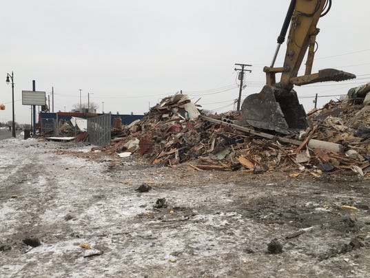 Victory Inn demolished