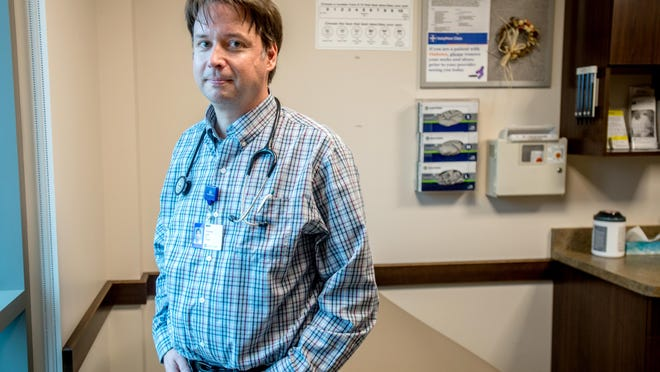 Dr. Thomas Luft, a physician with UnityPoint Health-Pekin, was infected with COVID-19 in June and, although he has since recovered, he still suffers from some of the deleterious effects today.