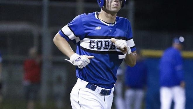 "Park Vista outfielder/first baseman Nolan Schanuel, who has signed with Florida Atlantic, will be one of the senior baseball players expected to play their final game during ""High School Senior Week"""