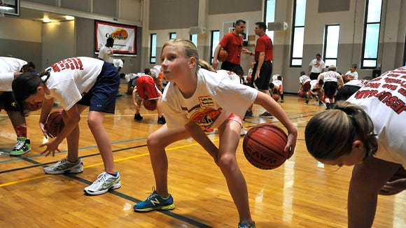 Crossfire Ministries is holding its annual basketball camps this summer. http://avlne.ws/1JO5hU3
