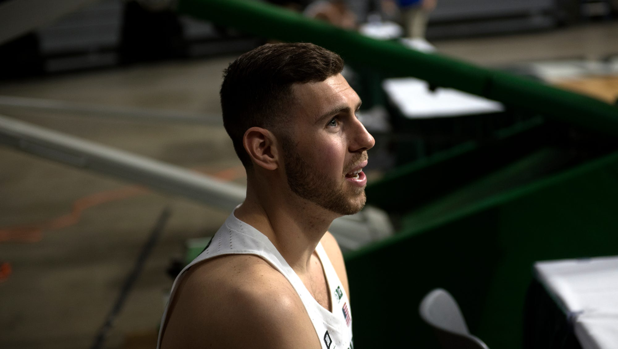 Vegas shooting hits too close to home for Michigan State's Ben Carter