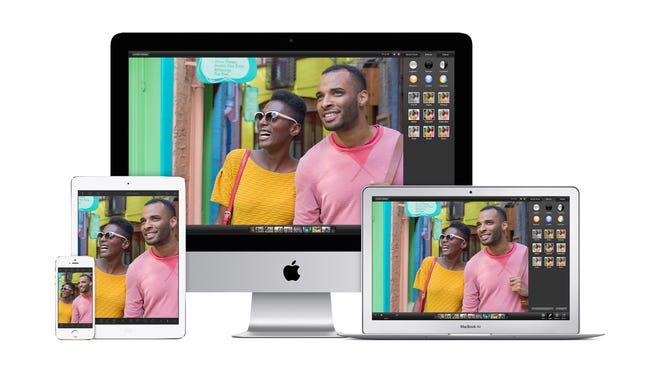 Apple's iPhoto application
