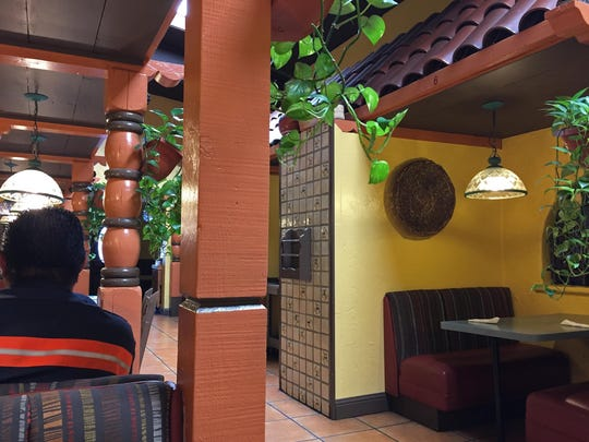 Booths at Taquito's Mexican Restaurant, 923 N. Main Street, Salinas