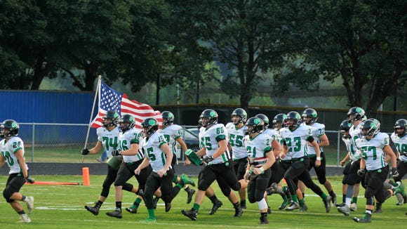 Mountain Heritage is the road team for Friday's football game at Mitchell.