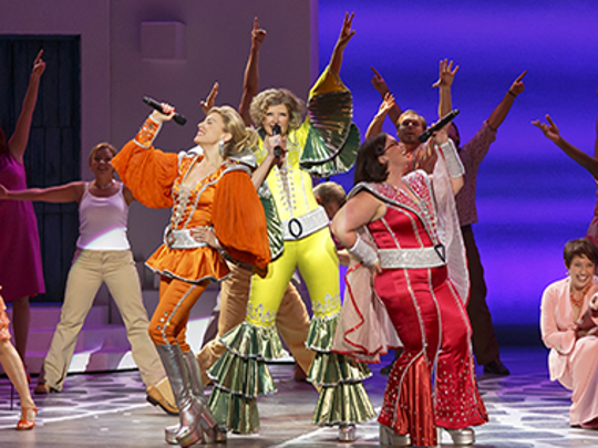 "The ABBA-inspired ""Mamma Mia!"" had its Springfield Little Theatre debut in 2017."