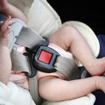 Free car seat inspections are offered from 4-7 p.m. Thursday at the Livingston County Public Safety Complex at 1911 Tooley Road in Howell Township.