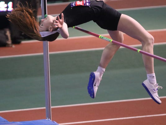 Jenna Rogers at Millrose Games