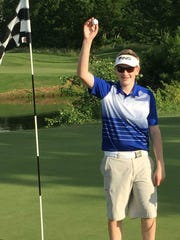 Ryan Kilgore, 14, made a hole-in-one on the Little