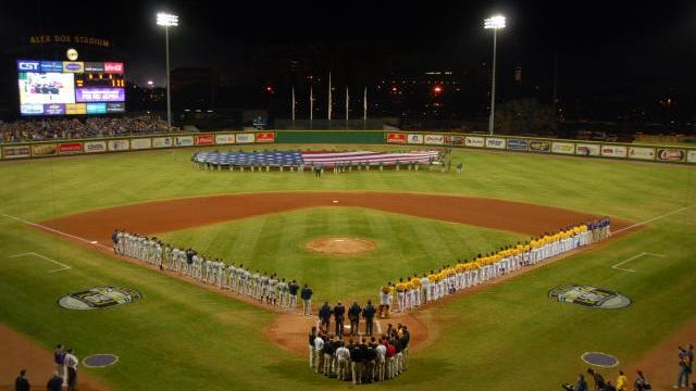 LSU's Alex Box Stadium is ranked No. 1 for fan experience in college baseball.