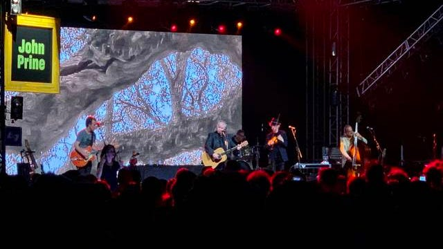 John Prine performs Saturday, June 15, 2019 at the Bonnaroo Music & Arts Festival in Manchester, Tennessee.