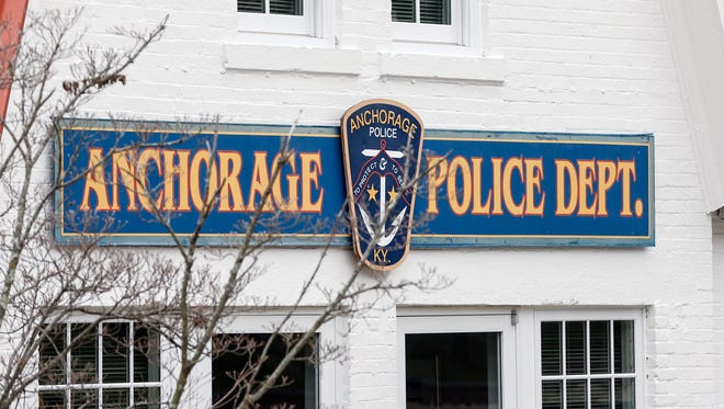The Anchorage Police Department at 1306 Evergreen Road. March 29, 2017