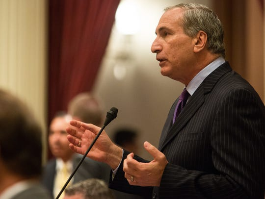 Republican state Sen. Jeff Stone, from Temecula, is